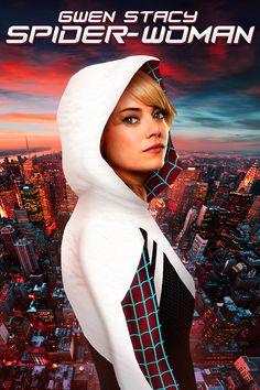 Gwen Stacy, Hq Marvel, Marvel Dc Comics, Mundo Marvel, Spider Verse, Spider Gwen Cosplay, Marvel Heroines, Spider Girl, Spider Women