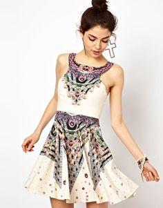 Enlarge Ginger Fizz Prom Dress In Diamond Print.