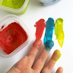 Broken crayons and coconut oil finger paint.         Gloucestershire Resource Centre http://www.grcltd.org/home-resource-centre/