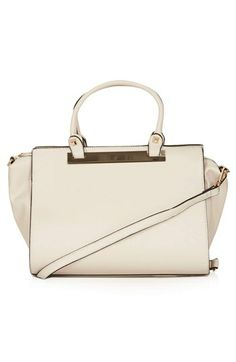Topshop Faux Leather Handbag available at #Nordstrom