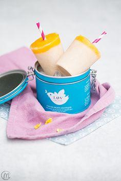 Mango Ice Tea Popsicles | Marylicious