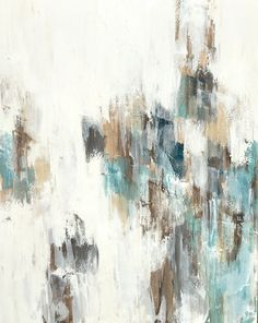 "Melissa Payne Baker, ""Welcoming,"" mixed media on canvas, 60"" x 48"""