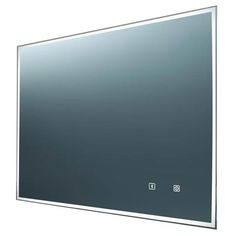 Euroshowers Bluetooth LED Rectangular Mirror with Demister - 800 x 600mm