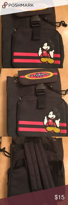 Mickey Mouse small backpack.  Bought at Disneyworld.. Super cute backpack. Bags Backpacks