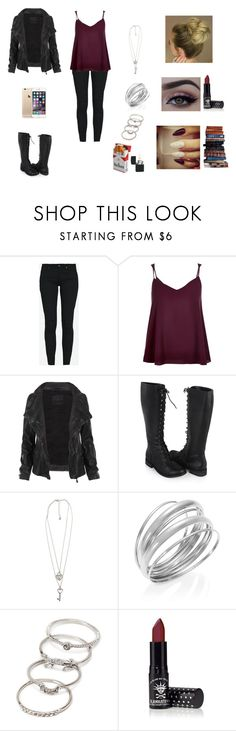 """""""Suspense #3"""" by jazmine-bowman on Polyvore featuring Zara, River Island, AllSaints, Forever 21, Alfani and Make"""