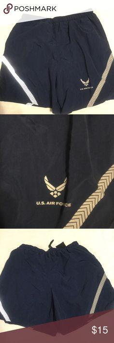 Selling this United States Air Force Physical Training Shorts on Poshmark! My username is: pennypicking. #shopmycloset #poshmark #fashion #shopping #style #forsale #Other
