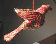 I ❤ sewing & quilting . . . Spool bird ornament- I made a little Spool birdie and thought she needed some wings. The pattern is here: www.spoolsewing.com/blog/wp-content/uploads/2008/06/birdp... explore. ~By Sewz4fun