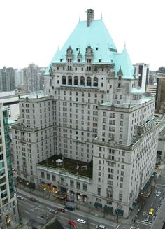 The Heathman Hotel in Portland. First time they slept together (innocently) (actually the Fairmont Hotel in Vancouver) Vancouver Hotels, Downtown Vancouver, Vancouver Vacation, North Vancouver, Toronto, Days Hotel, York Hotels, See World, Fairmont Hotel