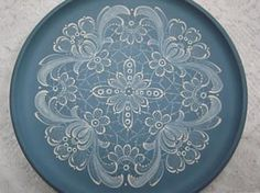 Caribbean Lace Design Packet Plate
