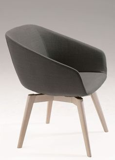 Grab yourself a seat at the table. Simple modern design, this chair will add a touch of sophistication to any space. Modern Design, Armchair, Upholstery, Touch, Contemporary, Grey Fabric, Office Chairs, Elegant, Simple