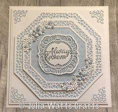 Expensive Wedding Gifts For Groom Wedding Day Cards, Wedding Cards Handmade, Wedding Anniversary Cards, Wedding Gifts, Anniversary Ideas, Handmade Cards, Sue Wilson, Birthday Cards For Women, Birthday Gifts For Sister