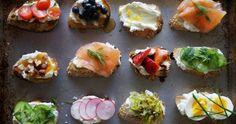 Buffet dinatoire : recettes et idees menu originales et faciles à réaliser pour un buffet de mariage, anniversaire, cocktail dinatoire... Lien : http://www.go-reception.com/blog/buffet-dinatoire/