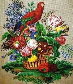 Fabulous Detailed Berlin WoolWork Pattern
