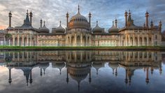 Royal Pavilion, Brighton, England.