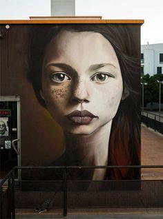Man o Matic #streetart: Kumara - Huelva, 2015
