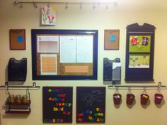 family message centre includes 2 magnetic chalk boards 2 bulletin boards 2 mail bulletin board designs for office