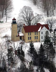 Beaver Island Lighthouse, Michigan at Lighthousefriends.com