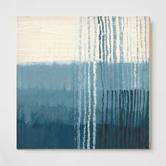 """This is going above couch. 54"""" x 54. $600 canvas. Place above couch. Sarah Campbell Wall Art - Oversized Ripple"""