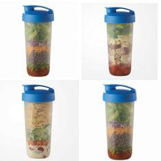 Quick Salads on the Go—Just Shake, Serve and Enjoy! Www.my.tupperware.com/crystalmason