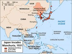 Image result for imperial japan map