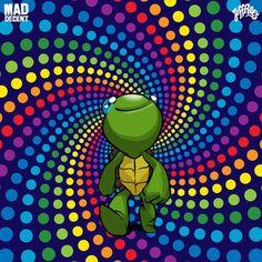 """E o Trippy Turtle finalmente revela seu debut single """"Trippy's Theme"""""""