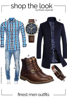 Men's style consisting of parts from MLT Belts & Accessories, Tommy Hilfiger, Kayhan, Vogsty Mode Masculine, Stylish Men, Men Casual, Moda Formal, Herren Style, Look Man, Herren Outfit, Casual Outfits, Fashion Outfits