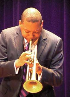 Getting advice on music and life from jazz great Wynton Marsalis