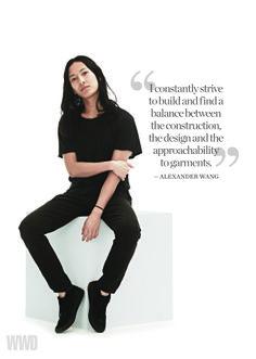 Alexander Wang: Womenswear Designer of the Year and Accessory Designer of the Year Nominee