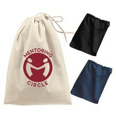 Imprinted Port & Company® - Shoe Bag (Q23659)