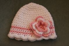 Adorable infants Cotton Hat Great Photography by BlissfulFiber, $8.00