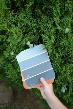 Paint chip scavenger hunt.  Put a pad of paint chips together and have kids hunt for colors to match each stripe. Gather the items if possible for younger kids.  Have older kids write down what item matched what color in a complete sentence. ~kss