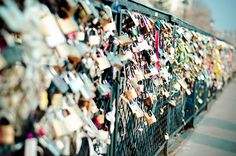 Le Pont de l'Archevêché bridge in Paris - one day I want to go there to add a lock to the bridge with my beloved.