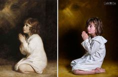 Αλβανίδα φωτογράφος δίνει ζωή σε διάσημους πίνακες ζωγραφικής χρησιμοποιώντας παιδιά με σύνδρομο Down http://down-syndrome.gr/photo/item/241-soela-zani