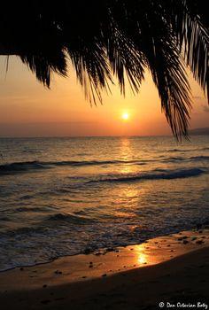 Crete, Greece-Malia sunset