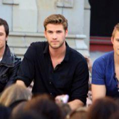 Peeta, Gale, and Cato. Hottttttttttnessssssssss.