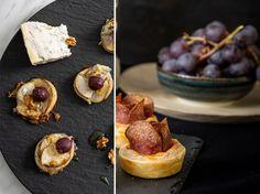 Slané chuťovky: Hrušky zapečené so syrom a Salámové ruže | DOMA.SK Cheesecake, Desserts, Food, Meal, Cheesecakes, Deserts, Essen, Hoods, Dessert
