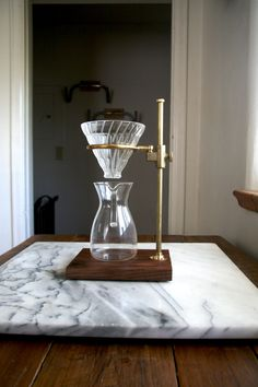 Etsy の The Clerk V60 Coffee Pour Over Stand by TheCoffeeRegistry