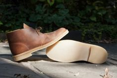 Clarks Desert Boot in Beeswax