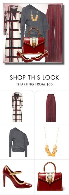 """""""Matching shoes and bag"""" by lustydame ❤ liked on Polyvore featuring Weili Zheng, Tom Ford, Louis Vuitton and Gucci"""