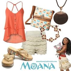 awesome Disney Bounding With The Disney Fashionista- The Magnificent Moana