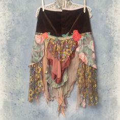 bohemian clothing | Autumn Rose gypsy skirt at resurrectionrags.com