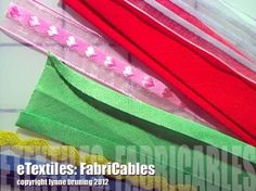 How to create FabriCables - eTextile Lounge