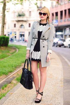 The fashion fruit    Me inspira este blog porque su estilo es muy chic. Además usa prendas de marcas accesibles y conocidas.