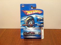 Hot Wheels Hammer Sled #20 2006 First Editions Purple Motorcycle w/ MC5's…