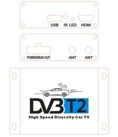 Siano Chipset Two tuner Two Antenna Diversity Mobile digital dvb-t2 car TV receiver Full HD dvb-t2 digital tv receiver