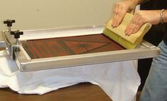 Free friday - screen printing at home tutorial | Kim Welling