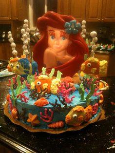 Ariel Under The Sea Cake!