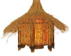 OCEANIC ARTS Catalog - Tropical Lighting Bottle Chandelier, Chandelier Art, Tiki Lights, Hanging Lights, Tiki Hut, Tiki Tiki, Animal Lamp, Book Lamp, Tiki Bar Decor