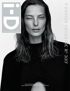 Daria Werbowy by Alasdair McLellan for i-D Magazine 35th Anniversary Birthday Issue Summer 2015
