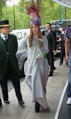 Lady Gaga Takes to London